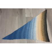 Háčkovaný šátek - ocean state of mind