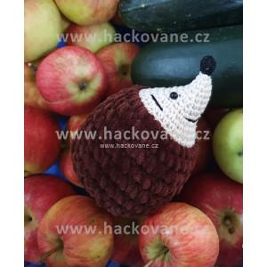 Háčkovaná dekorace  - ježek - ihned k prodeji