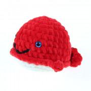 Háčkovaná velryba, červená