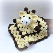 Usínáček žirafa, žlutá
